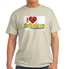 I Heart Tristan MacManus Light T-Shirt