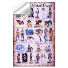 Magical Mythical Mini 11x17 Print Wall Decal