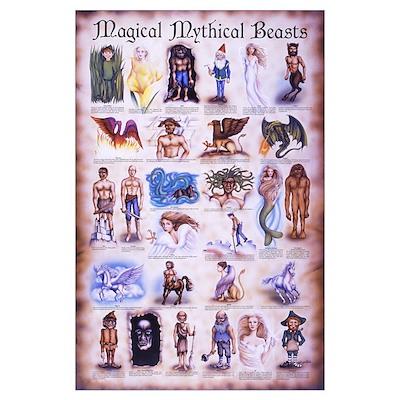 Magical Mythical Mini 11x17 Print Poster
