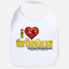 I Heart Tristan MacManus Bib