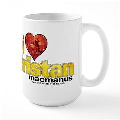 I Heart Tristan MacManus Large Mug