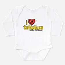 I Heart Tristan MacManus Long Sleeve Infant Bodysu