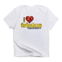 I Heart Tristan MacManus Infant T-Shirt