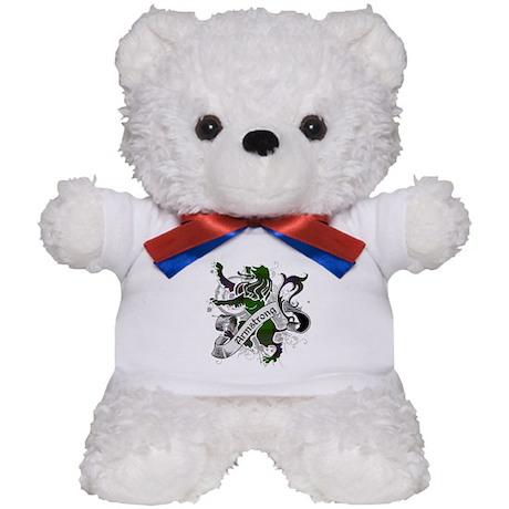 Armstrong Tartan Lion Teddy Bear