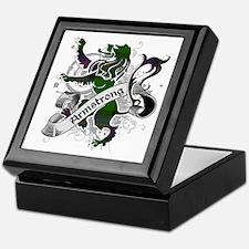 Armstrong Tartan Lion Keepsake Box