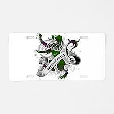 Armstrong Tartan Lion Aluminum License Plate