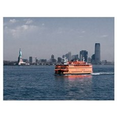 Staten Island Ferry Canvas Art
