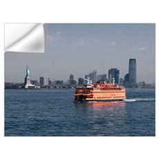 Staten Island Ferry Wall Decal