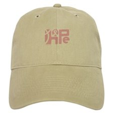 Think Hope (LtPink/Black) Baseball Cap