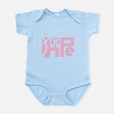 Think Hope (LtPink/Black) Infant Bodysuit