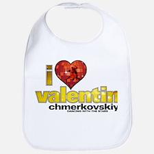 I Heart Valentin Chmerkovskiy Bib