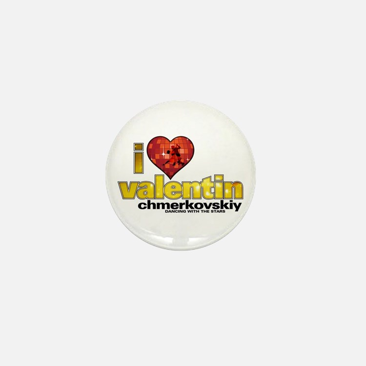 I Heart Valentin Chmerkovskiy Mini Button