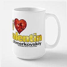 I Heart Valentin Chmerkovskiy Ceramic Mugs
