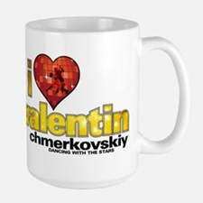 I Heart Valentin Chmerkovskiy Large Mug