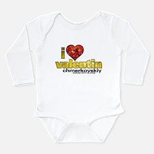 I Heart Valentin Chmerkovskiy Long Sleeve Infant B