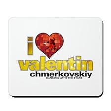 I Heart Valentin Chmerkovskiy Mousepad