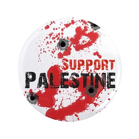 "Support Palestine bullet 3.5"" Button"