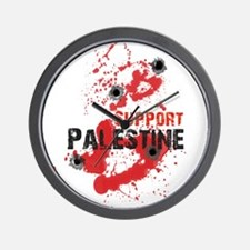 Support Palestine bullet Wall Clock