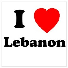 I heart Lebanon Poster