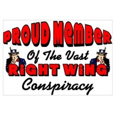 """Right Wing Conspiracy"" Poster"