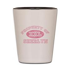 Property of Sherlyn Shot Glass