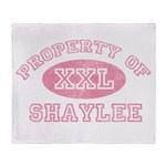 Property of Shaylee Throw Blanket