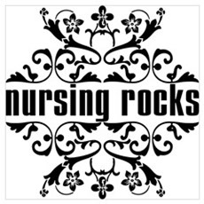 Nursing Rocks Poster