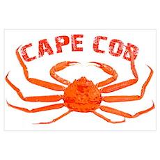Cape Cod Crab Poster
