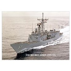 USS REUBEN JAMES Poster