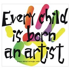 Every Child is an Artist Framed Print