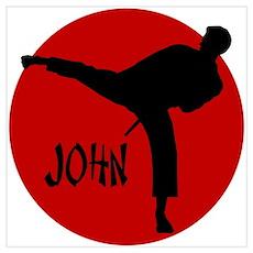 John Karate Poster