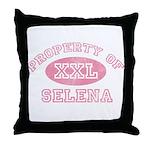 Property of Selena Throw Pillow