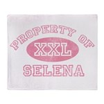 Property of Selena Throw Blanket