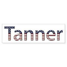 Tanner Stars and Stripes Bumper Bumper Sticker