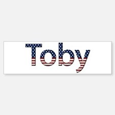 Toby Stars and Stripes Bumper Bumper Bumper Sticker