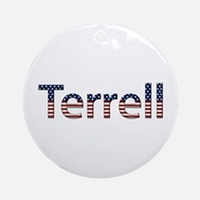 Terrell Stars and Stripes Round Ornament