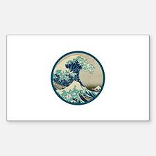 Kanagawa great wave Decal