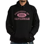 Property of Savannah Hoodie (dark)