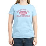 Property of Savannah Women's Light T-Shirt