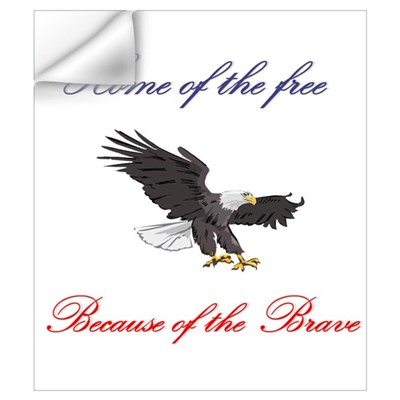 Home of the free... Wall Decal