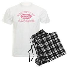 Property of Savanah Pajamas