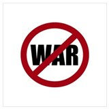 Anti war Wrapped Canvas Art