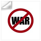 No war Wall Decals