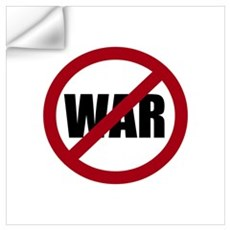 No War Wall Decal