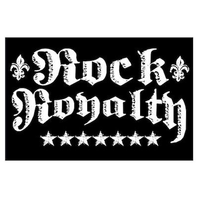 """Rock Royalty"" Poster"