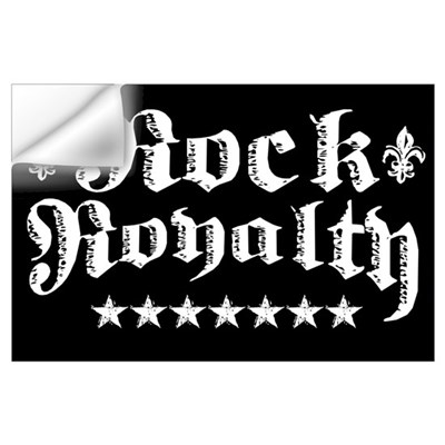 """Rock Royalty"" Wall Decal"