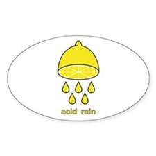 acid rain lemon Decal