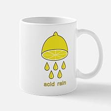 acid rain lemon Mug