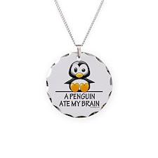 A Penguin Ate My Brain Necklace