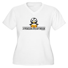 A Penguin Ate My Brain T-Shirt